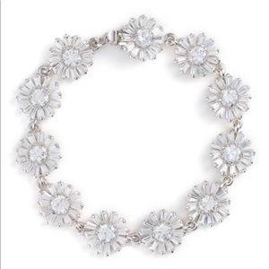 Kate Spade Crystal Gardens Wedding Flower Bracelet
